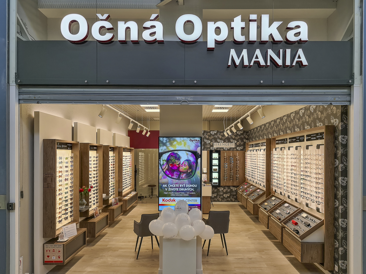 Očná Optika MANIA